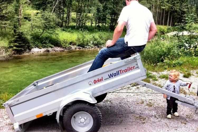 WallTrailer™ 750kg Tilhenger