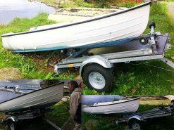 WallTrailer™ Båtstativ