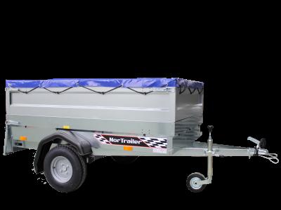 Nor-Trailer™ 1,8 m uten bremser 500 kg sett